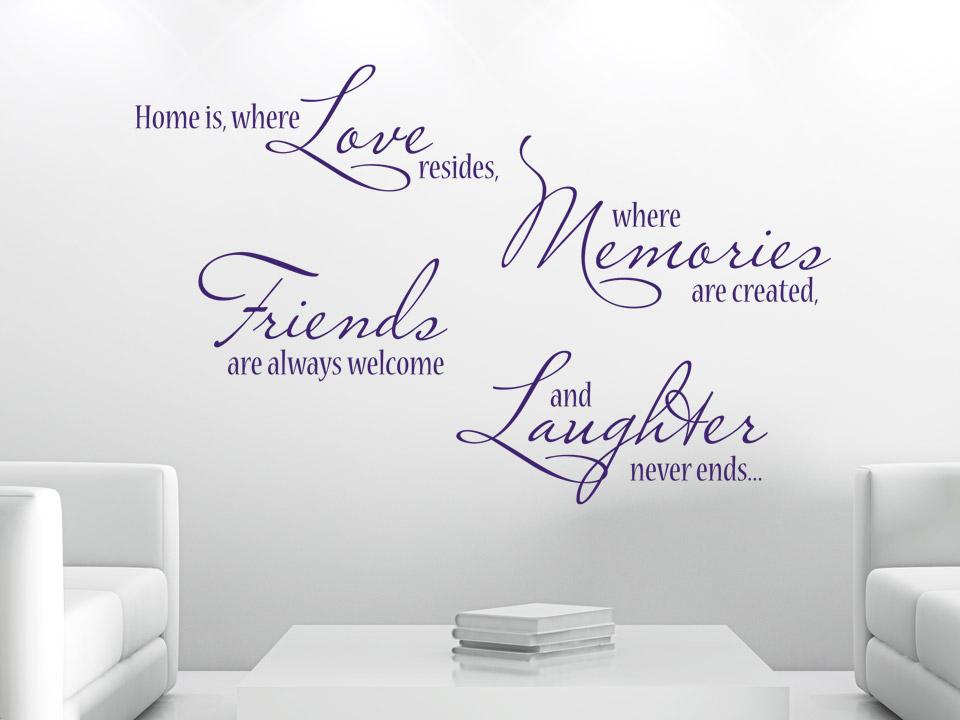 home sticker decorativ stickere perete. Black Bedroom Furniture Sets. Home Design Ideas